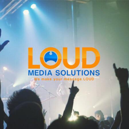 Diseño de Logo: Loud Media Solutions